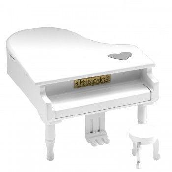 Piano Musical Branco