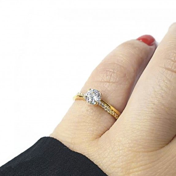 Anel Golden - Engagement