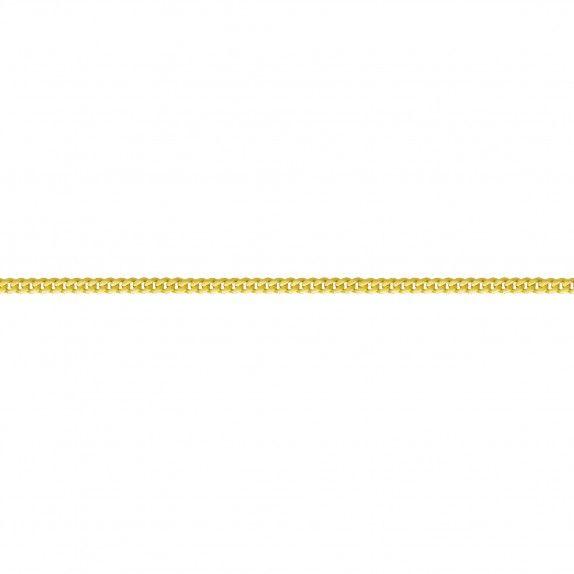 Pulseira Ouro Barbela Lapidada 45
