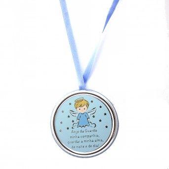 Medalha de Berço Azul - Anjo