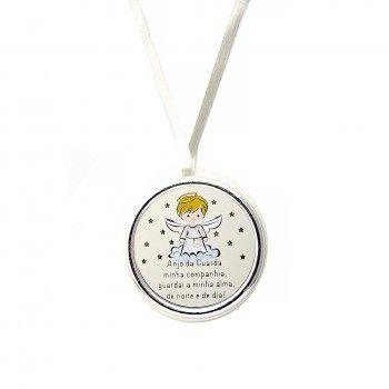 Medalha de Berço Branca - Anjo