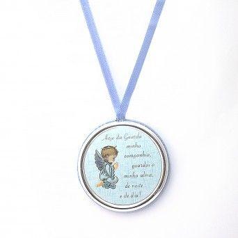 Medalha de Berço Azul - Anjo da Guarda