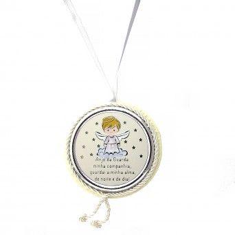 Medalha de Berço Branca Musical - Preghiera
