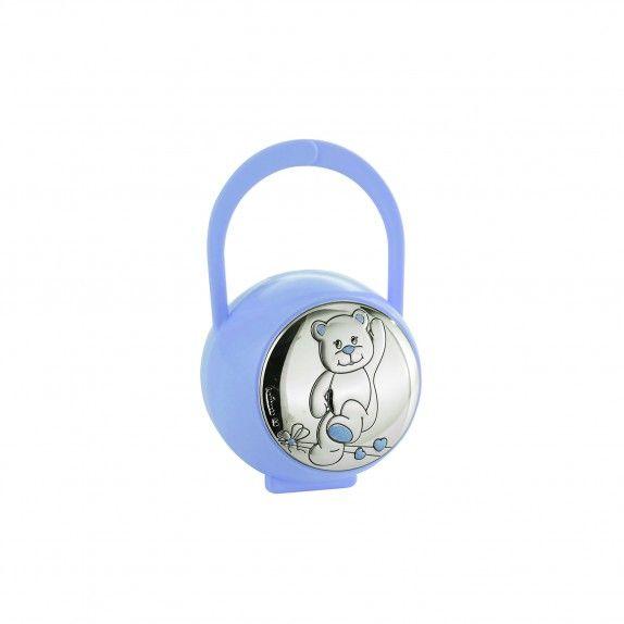 Caixa de Chupeta Azul -  Urso