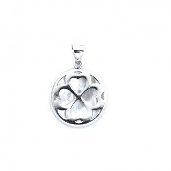 Medalha Clover with Mother of Pearl
