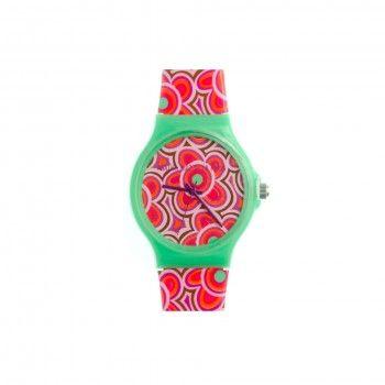 Relógio Agatha - Red Flower