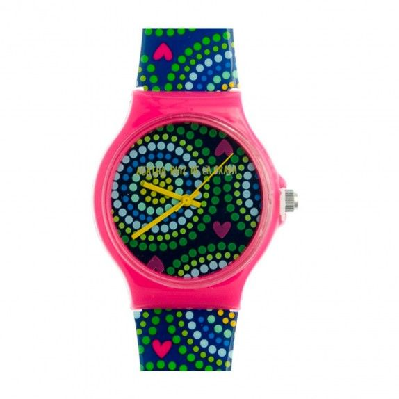 Relógio Agatha -  Colorido