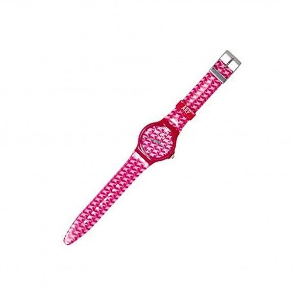 Relógio Agatha -  Flip Red Geometric