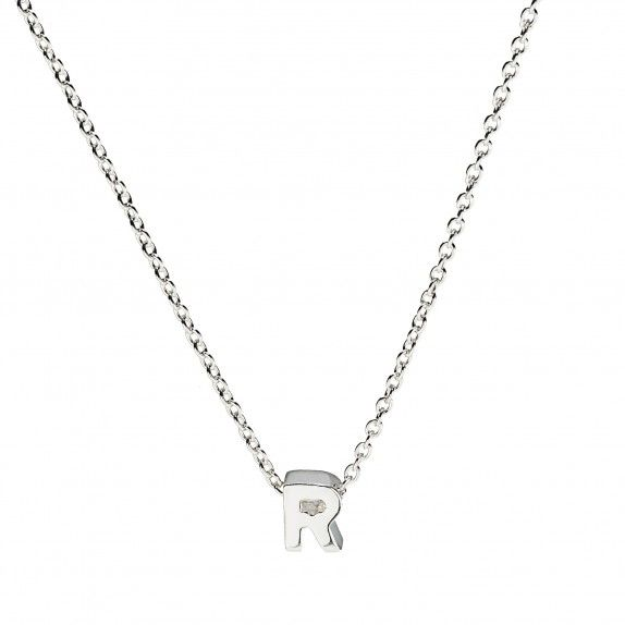 Initial Necklace R