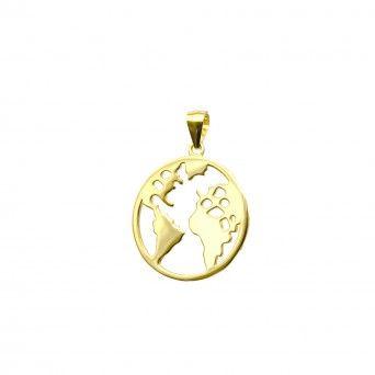 Medalha Mundo Dourada