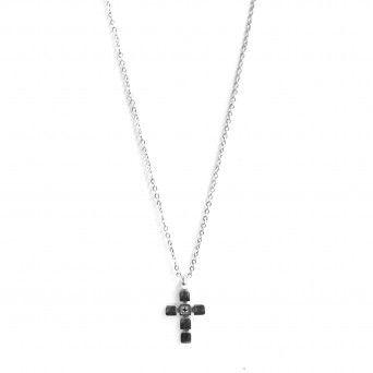 Fio Zircon Black Cross