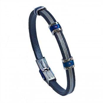 Pulseira  Blue Steel Wires