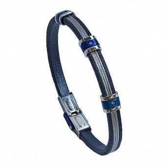 Pulseira  Blue Steel Wires