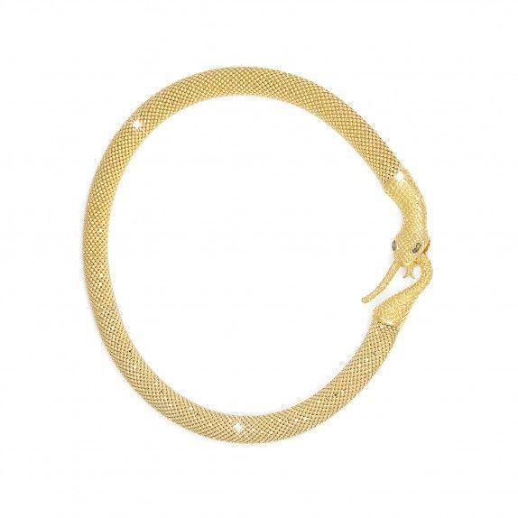 Colar Golden -  Snake