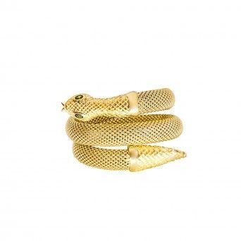 Pulseira Golden - Snake