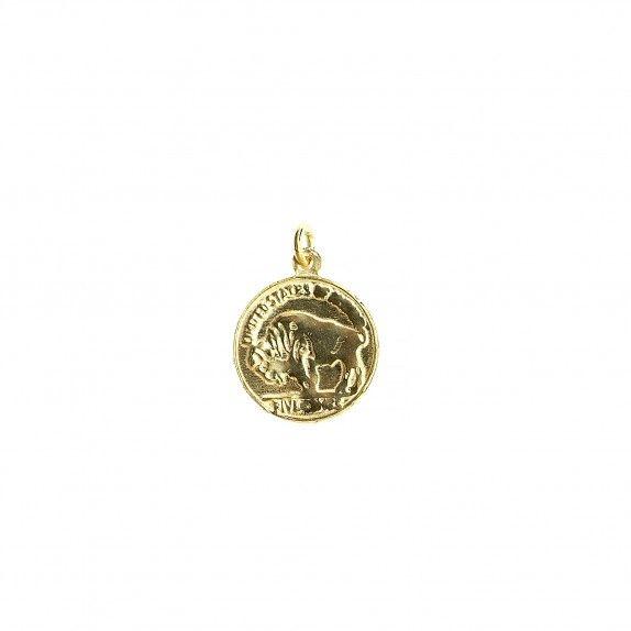 Medalha Moeda Dourada