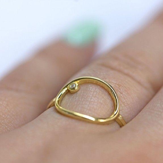 Anel Dourado - Sello