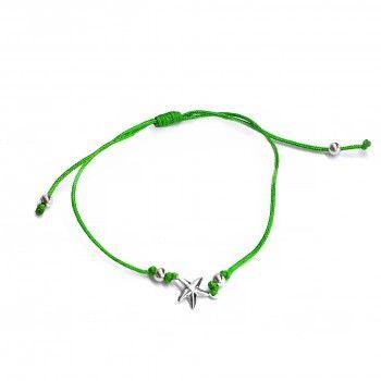 Pulseira Fio Verde - Estrela