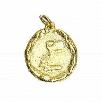 Medalha Dourada - Signo Aquário