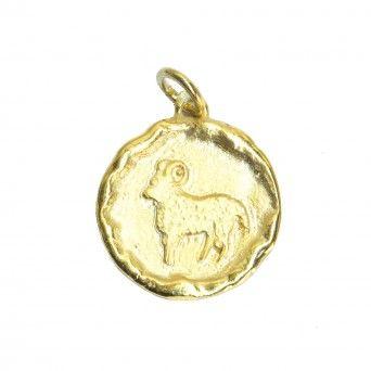 Medalha Dourada - Signo Carneiro