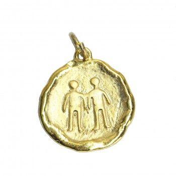 Medalha Dourada - Signo Gêmeos