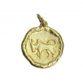 Medalha Dourada - Signo Touro
