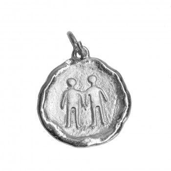 Medalha - Signo Gêmeos