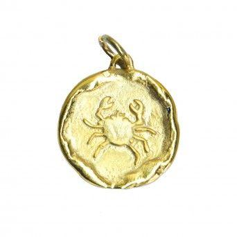 Medalha Dourada - Signo Caranguejo