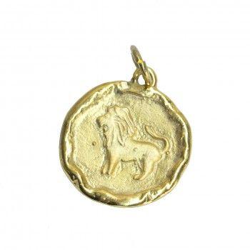 Medalha Dourada - Signo Leão