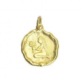 Medalha Dourada - Signo Virgem
