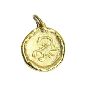 Medalha Dourado - Signo Escorpião