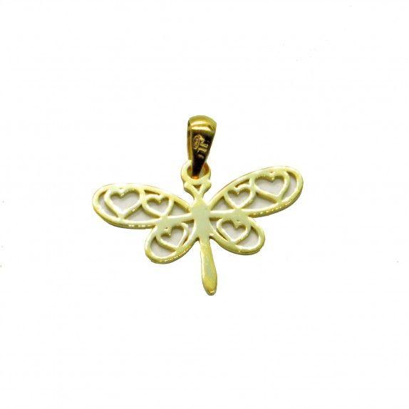 Medalha Ouro 9kts - Libelinha