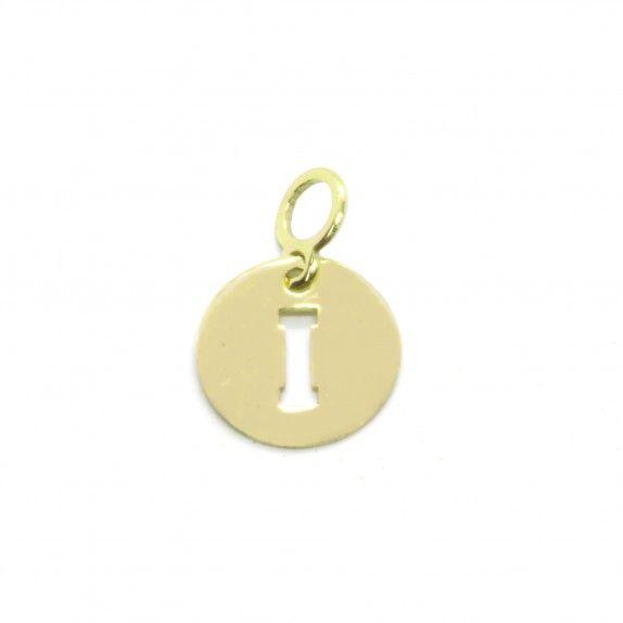 Medalha Ouro 9kts - Inicial I