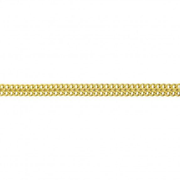 Fio Ouro 9kts - Malha Barbela