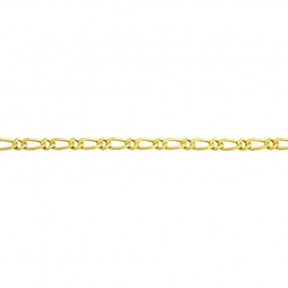 Fio Ouro 9kts - Malha Barbela Fina