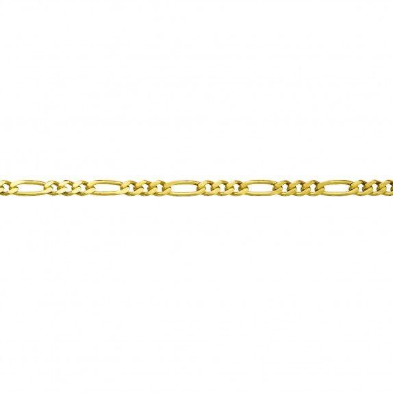 Fio Ouro 9kts - Malha 3+1
