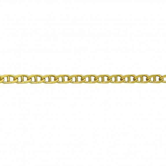 Fio Ouro 9kts - Malha Lapidada