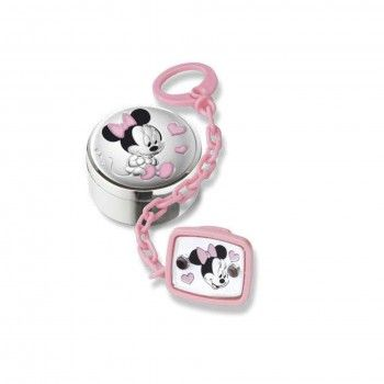 Corrente de chucha + Caixa 1º Dente Minnie - DISNEY