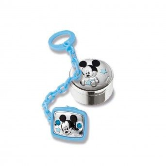 Chucha chain + 1st tooth box Mickey - DISNEY
