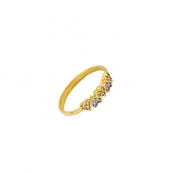 Anel Ouro 9kts - Odila