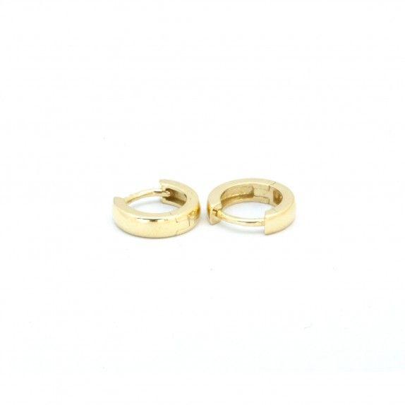Argolas Ouro 9kts - Simples