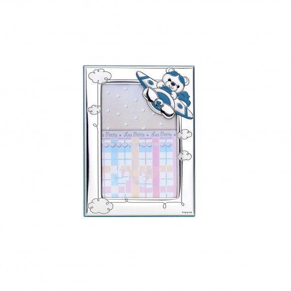 Moldura Azul - Urso Aéreo 9x13