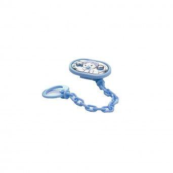 Corrente de Chupeta Azul - Bebé