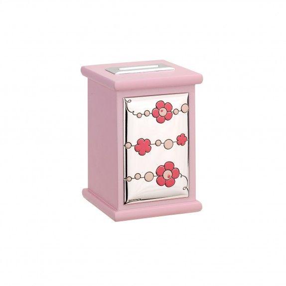 Mealheiro Musical Rosa - Flor