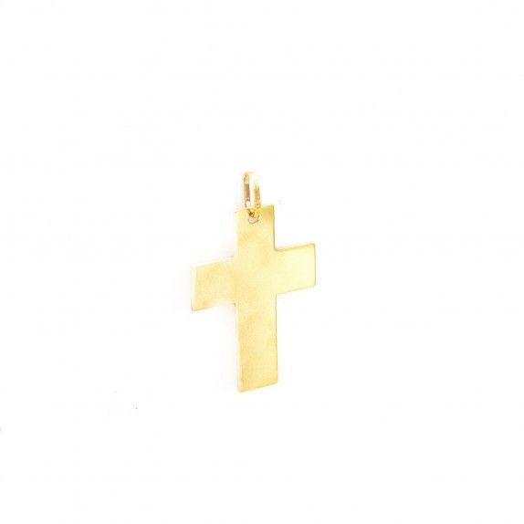 Medalha Ouro 9kts - Cross