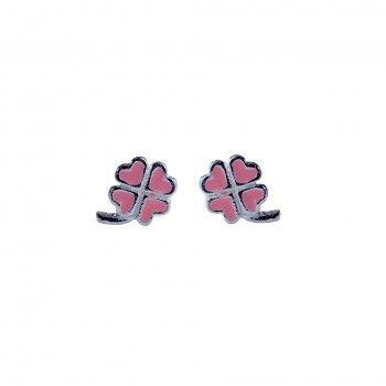 Brincos Kids - Pink Clover
