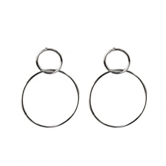 Brincos Two Circles