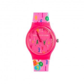 Relógio Agatha Ruiz de La Prada - Rosa C/Letras