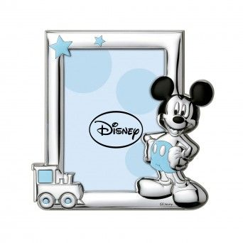 Moldura Disney Mickey Mouse - Azul