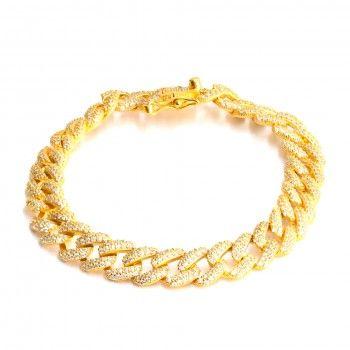 Pulseira Dourada - Cadeado